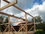 Фундамент с обвязкой и последующее строительство каркасного дома